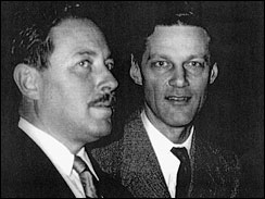 Tennessee Williams and Henry Hewes in the 1950's